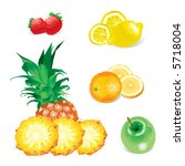 fruits  in the gallery also...   Shutterstock . vector #5718004