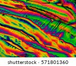 crystal layer on microscope... | Shutterstock . vector #571801360