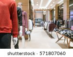 luxury and fashionable brand... | Shutterstock . vector #571807060