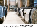 luxury and fashionable brand... | Shutterstock . vector #571807600