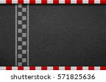 finish line racing background... | Shutterstock . vector #571825636