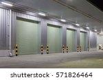 shutter door or roller door and ... | Shutterstock . vector #571826464