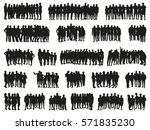 people together. big vector set ... | Shutterstock .eps vector #571835230