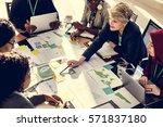 association alliance meeting... | Shutterstock . vector #571837180