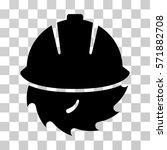 circular blade safety icon....   Shutterstock .eps vector #571882708