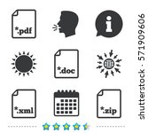 download document icons. file...   Shutterstock .eps vector #571909606