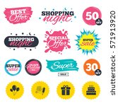 sale shopping banners. special... | Shutterstock .eps vector #571913920