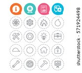 engineering icons. ventilation  ... | Shutterstock . vector #571924498