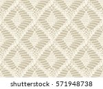 knitted seamless patterns.... | Shutterstock .eps vector #571948738