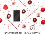 styled photo of st. valentine's ... | Shutterstock . vector #571948948