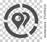 geo diagram icon. vector... | Shutterstock .eps vector #571950214
