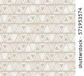 seamless vector geometrical... | Shutterstock .eps vector #571953574