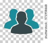 user group icon. vector... | Shutterstock .eps vector #571958668