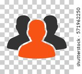 user group icon. vector... | Shutterstock .eps vector #571962250