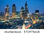 london  uk   december 19  2015  ... | Shutterstock . vector #571975618