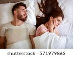 young couple have problem with ... | Shutterstock . vector #571979863