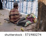 kolkata  india   february 08 ... | Shutterstock . vector #571980274