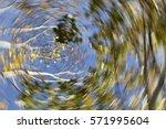 vertigo  dizzy  nature  illness ... | Shutterstock . vector #571995604