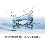 clear  beautiful splash with... | Shutterstock . vector #572015350