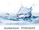 clear  beautiful splash with... | Shutterstock . vector #572016253