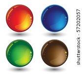 set of buttons | Shutterstock .eps vector #57202057