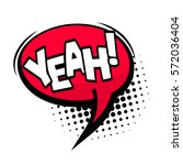 bubble icon speech phrase.... | Shutterstock .eps vector #572036404