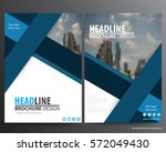 blue abstract annual report... | Shutterstock .eps vector #572049430