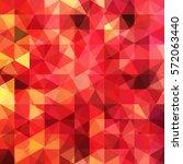 background of red  orange... | Shutterstock .eps vector #572063440