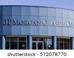 Small photo of Indianapolis - Circa February 2017: JPMorgan Chase Operations Center. JPMorgan Chase and Co. is the largest bank in the United States II