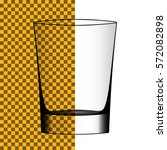 vector transparent realistic... | Shutterstock .eps vector #572082898