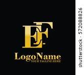 ef logo | Shutterstock .eps vector #572088826