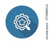 search optimization icon. flat... | Shutterstock .eps vector #572088913