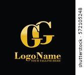 gg logo   Shutterstock .eps vector #572105248