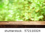 empty table for display montages | Shutterstock . vector #572110324