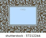 Vector Floral Frame. Easy To...