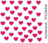hearts pattern  background.