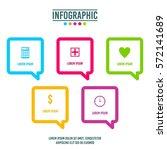 infographic element | Shutterstock .eps vector #572141689