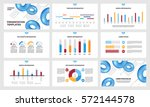 page layout template for... | Shutterstock .eps vector #572144578