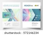 business templates for brochure ... | Shutterstock .eps vector #572146234