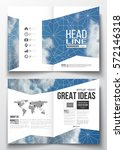 set of business templates for... | Shutterstock .eps vector #572146318