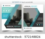 blue black vector brochure... | Shutterstock .eps vector #572148826