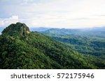 wat prabat pu pha daeng jaehom... | Shutterstock . vector #572175946