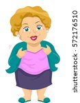 illustration featuring a senior ... | Shutterstock .eps vector #572176510