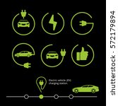vector electric vehicle....   Shutterstock .eps vector #572179894