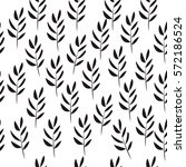 seamless floral hand drawn...   Shutterstock .eps vector #572186524