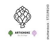 Vector Artichoke Icon...