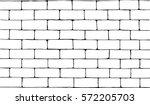hand drawn ink brick wall vector | Shutterstock .eps vector #572205703
