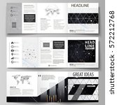 business templates for tri fold ... | Shutterstock .eps vector #572212768