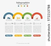 infographic design template... | Shutterstock .eps vector #572213788