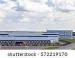 modern logistics center | Shutterstock . vector #572219170